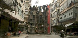 Aleppo-Barrikade